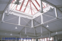 Constructions sous-tendues avec barres tendues BESISTA dans le MJH Kempten - 243