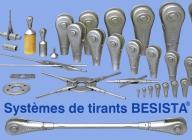 Systèmes de tirants et tirants de compression - assortiment de produits BESISTA - 370