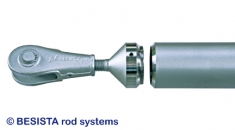 Raccord de barre de compression BESISTA avec ancrage pour barres de compressions en acier - 402