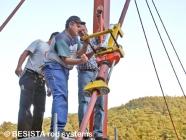 Précontraindre des barres tendues BESISTA jusqu'à 310 kN avec le système de précontrainte BVS-500 - 410