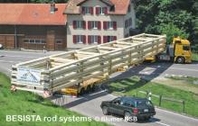 Systèmes d'haubanage BESISTA pour étançonner des fermes - 507