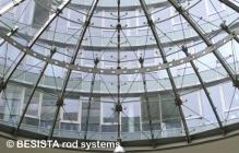 Système de tirants BESISTA pour constructions de verre et de façades - 512