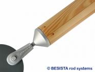 Barre de compression en bois système BESISTA avec raccord de barres et ancrage - 578
