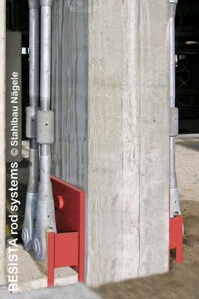 BESISTA Zuganker mit Spannhülsen zur Sanierung der EWS Arena Göppingen - 16