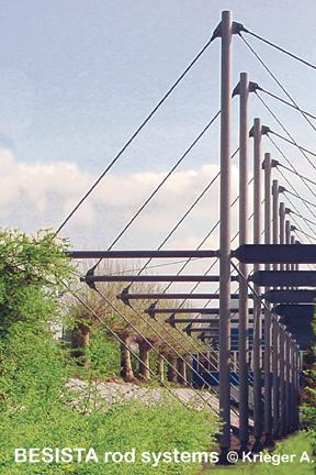 BESISTA Zugglieder und Zuganker für die Abspannung vom Stadion Wedau - 171