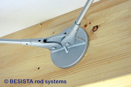 Ankerscheibe BESISTA für Holz zum Anschluss von Zugstäben/Zugstangen - 298