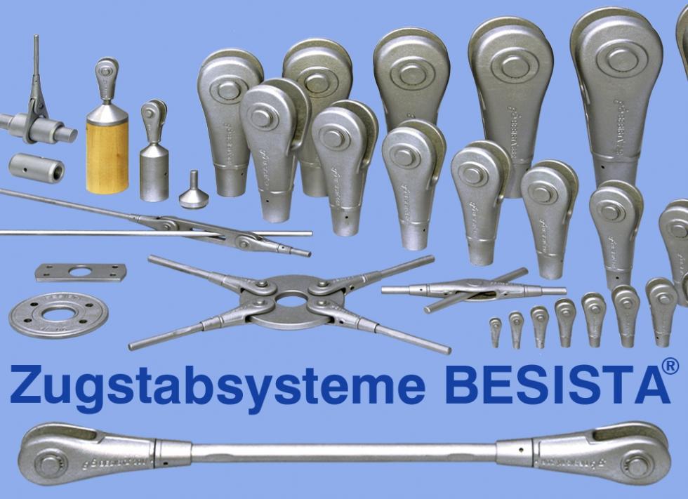 Zugstabsysteme und Druckstäbe BESISTA - Produktsortiment  - 370