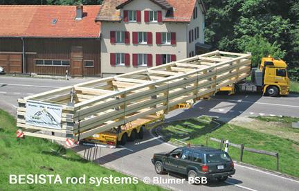 BESISTA Zugstangensysteme zur Aussteifung der Dachbinder - 507