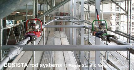 Zugstangen BESISTA im Fassadenbau für PWC Parkside Zürich, Switzerland - 571