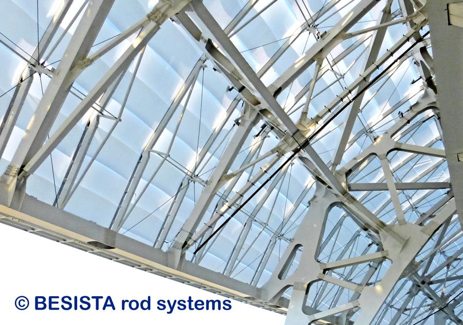 Zugstabsysteme und Druckstabsysteme BESISTA für das gesamte Olympiastadio Sochi - 652