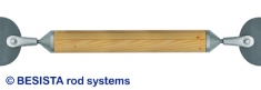 Druckstab System BESISTA für Unterspannungen und räumliche Strukturen im Holzbau - 58