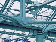 Zugstabsysteme BESISTA, Detail der Unterspannung - Rathaus Galerie Essen - 61