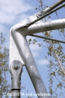 Zugstab- und Druckstabsysteme BESISTA im Detail zur Aussteifung, ZOB Reutlingen - 83