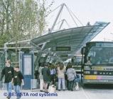 Druckstäbe und Zugstäbe System BESISTA für die Abspannung vom Dach - 85
