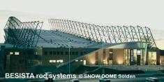 BESISTA Zugstangensysteme für die Abspannungen des Snow Dome Sölden - 161