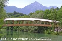 Zuggliedersysteme mit Stabanker von BESISTA für die Brücke Siezenheim Austria - 363