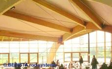 Zugstäbe und Zuganker von BESISTA für die Windverbände und Abspannungen - 396
