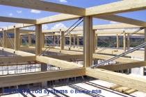 Zugstangensysteme von BESISTA im hochwertigen Holzbau - 505