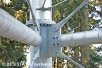 BESISTA Zugstangensysteme für die Aussteifung des Stahlbau Skywalk Scheidegg - 591