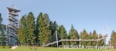 Zugstabsysteme BESISTA für die Aussteifung und Abhängung des Skywalk Scheidegg - 594