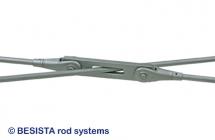 Kreuzbleche für BESISTA Zugstabsysteme und Zugstangensysteme mit flachen Winkeln - 598