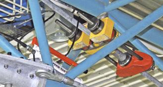 Vorspannen der Zugst�be M42 auf 440 kN mit Vorspannsystem BESISTA BVS500